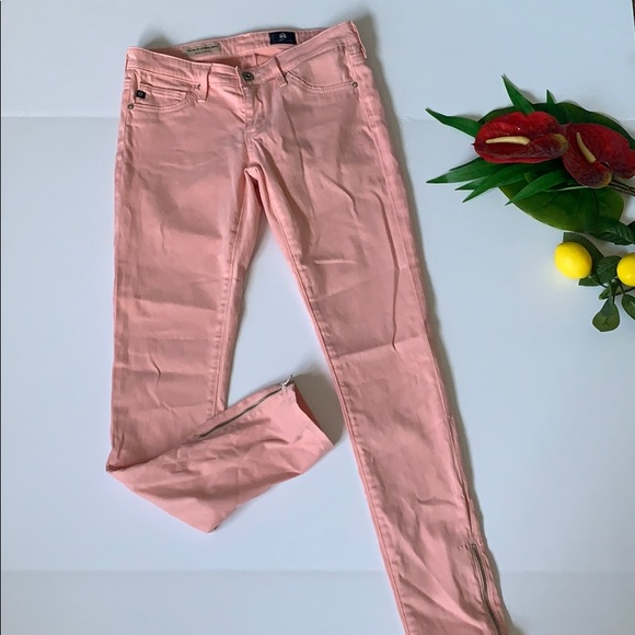 Ag Adriano Goldschmied Denim - AG Adriano Goldschmied Zip Up Legging Ankle